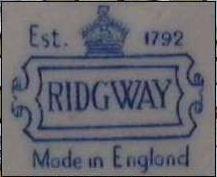 Ridgway S Bedford Works
