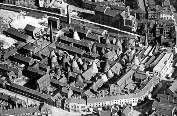 Spode works in 1927