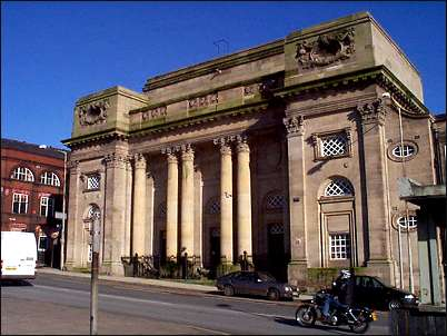 Queens Hall, Burslem ... well frequented for dancing