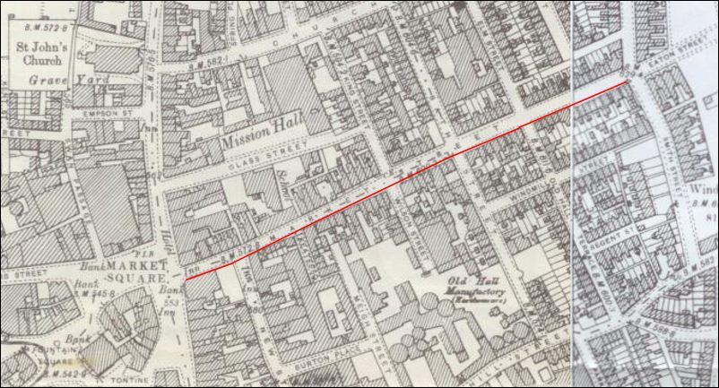 Huntbach Street Hanley StokeonTrent