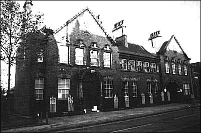 Original police station in Sutherland Road