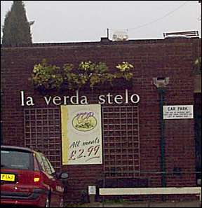 la verdo stelo - is Esperanto for 'The Green Star'
