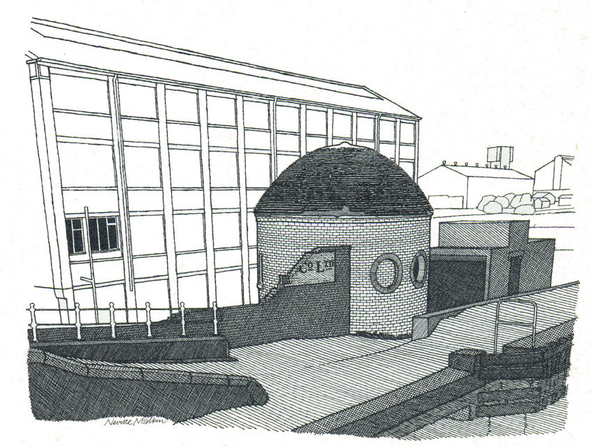 The roundhouse at Wedgwood Etruria Works