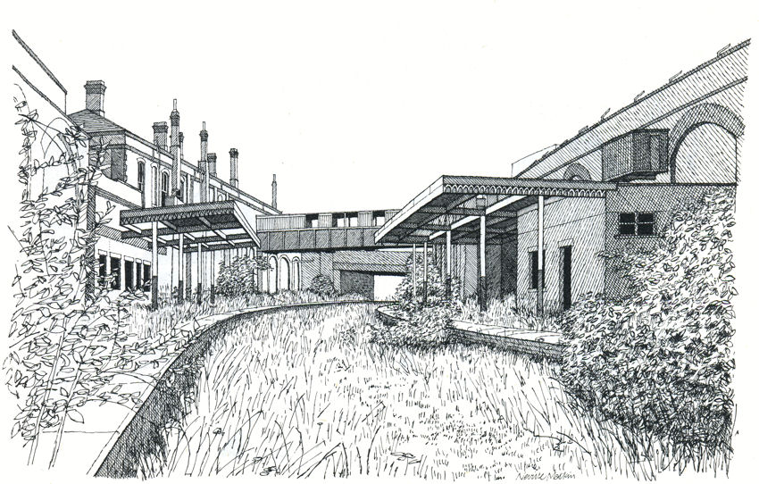 Image Gallery old train station drawings