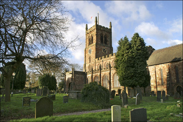 No 1 - HOLY TRINITY CHURCH, Eccleshall