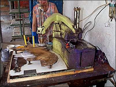 The 'Curvex' pattern printer