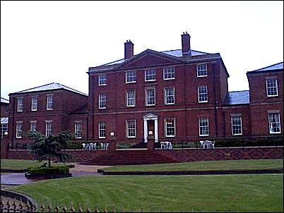 Wedgwood's home in Etruria - built c.1770