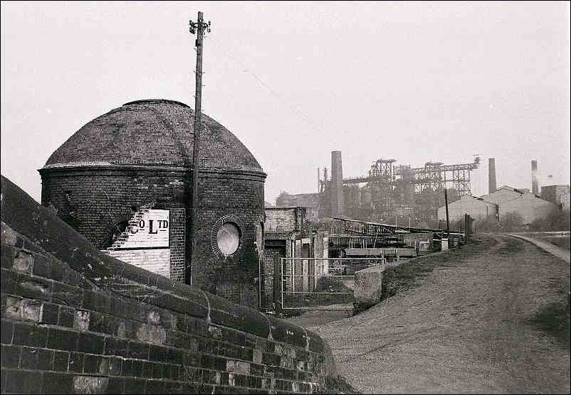 Roundhouse on the side of the Trent and Mersey Canal