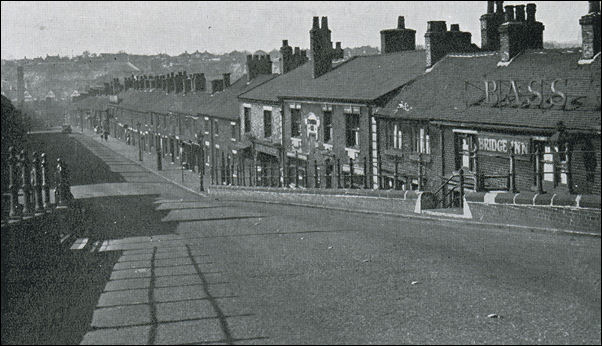 photo of Lord Street taken from the Etruria Bridge