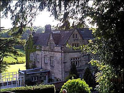 The large 17th century stone built country house and estate of Maer Hall