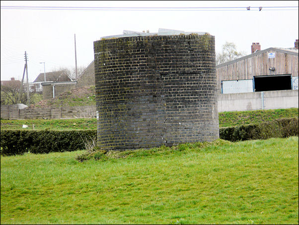 a long remaining airshaft to Brindley's canal tunnel