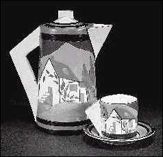 Applique Lugano coffee pot