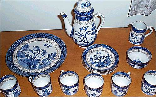 example of A. G. Harley Jones 'Willow' pattern