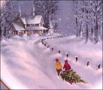 Christmas Tree Spode