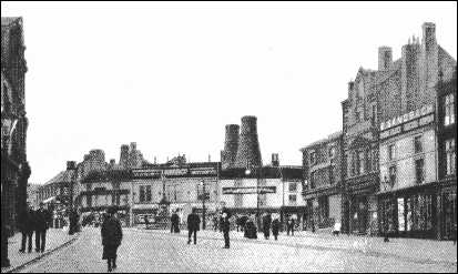 Crown and Central pottery works, Burslem