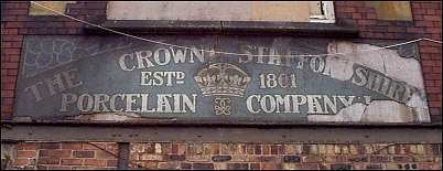 The Crown Staffordshire Porcelain Co. - Minerva Works