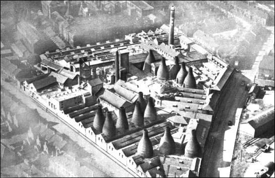 Aerial view of Pinnox factory